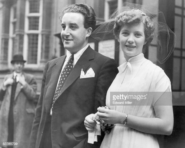 British actor and comedian Peter Sellers marries his first wife Anne Howe at Caxton Hall in London 15th September 1951 The couple were divorced in...
