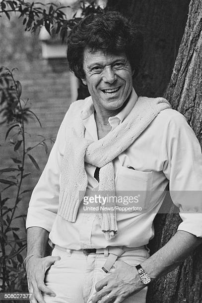 British actor and dancer Lionel Blair posed at Elstree Studios in Hertfordshire England on 8th July 1983