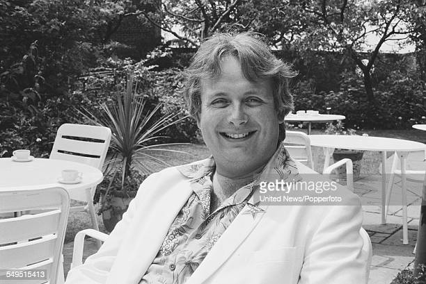British actor and television presenter Christopher Biggins pictured at a Channel 4 television reception in London on 23rd June 1983