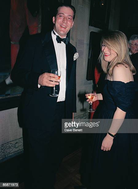 British actor and writer Stephen Fry at the National Portrait gallery London during an afterparty for Kenneth Branagh's film adaptation of...