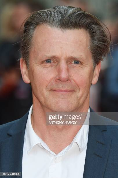 British actor Anthony Calf poses on the red carpet arriving to attend the UK premiere of the film The Children Act in London on August 16 2018