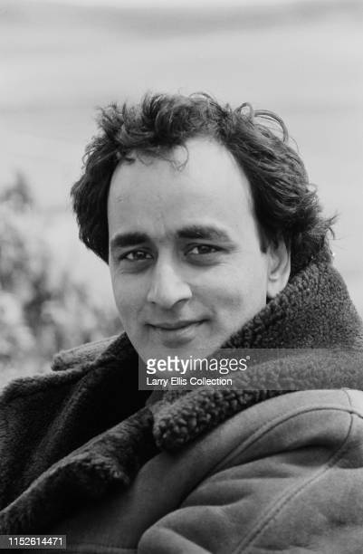 British actor Art Malik pictured on location during filming of the Anglia television drama series The Black Tower an adaptation of the P D James Adam...