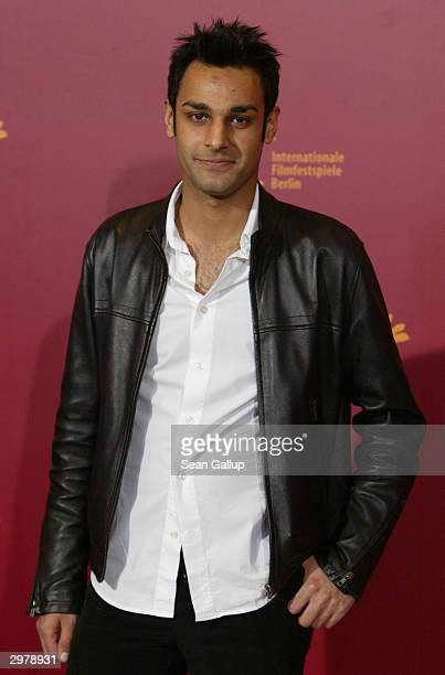 """British actor Atta Yaqub attends the photocall to """"Ae Fond Kiss"""" at the 54th annual Berlinale International Film Festival February 13, 2004 in..."""