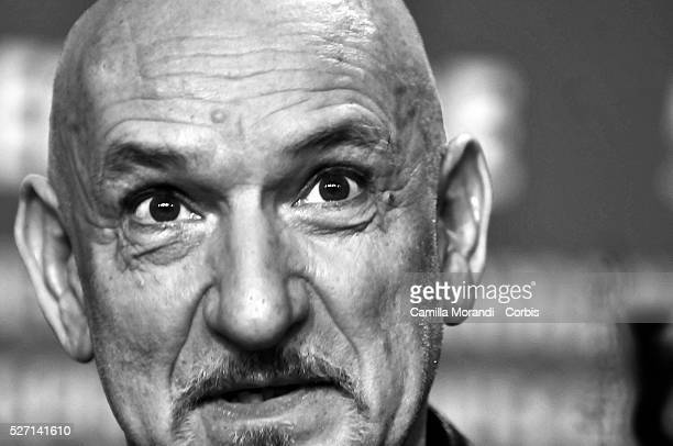 British actor Ben Kingsley attends a press conference for the film Transsiberian during the 58th Berlinale Film Festival