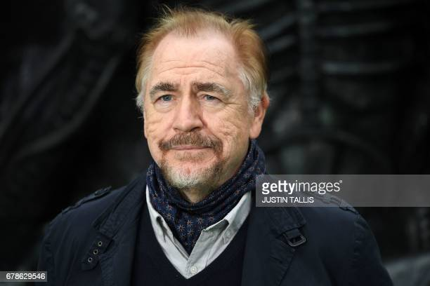"British actor Brian Cox poses for a photograph upon arrival at the world premiere of ""Alien: Covenant"" in London on May 4, 2017. / AFP PHOTO / Justin..."