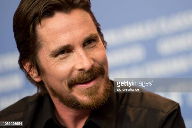 British actor Christian Bale attends a press conference for 'American Hustle' at the 64th annual Berlin Film Festival in Berlin Germany 07 February...
