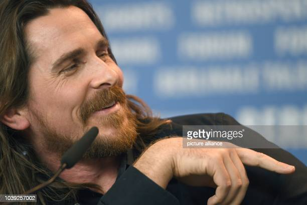 British actor Christian Bale during a press conference for 'Knight of Cups' at the 65th International FilmFestival in BerlinGermany 08 February...