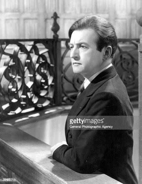 British actor Claude Rains in a scene from the psychological thriller 'Clairvoyant' Title Clairvoyant AKA The Evil Mind Studio Gainsborough Director...