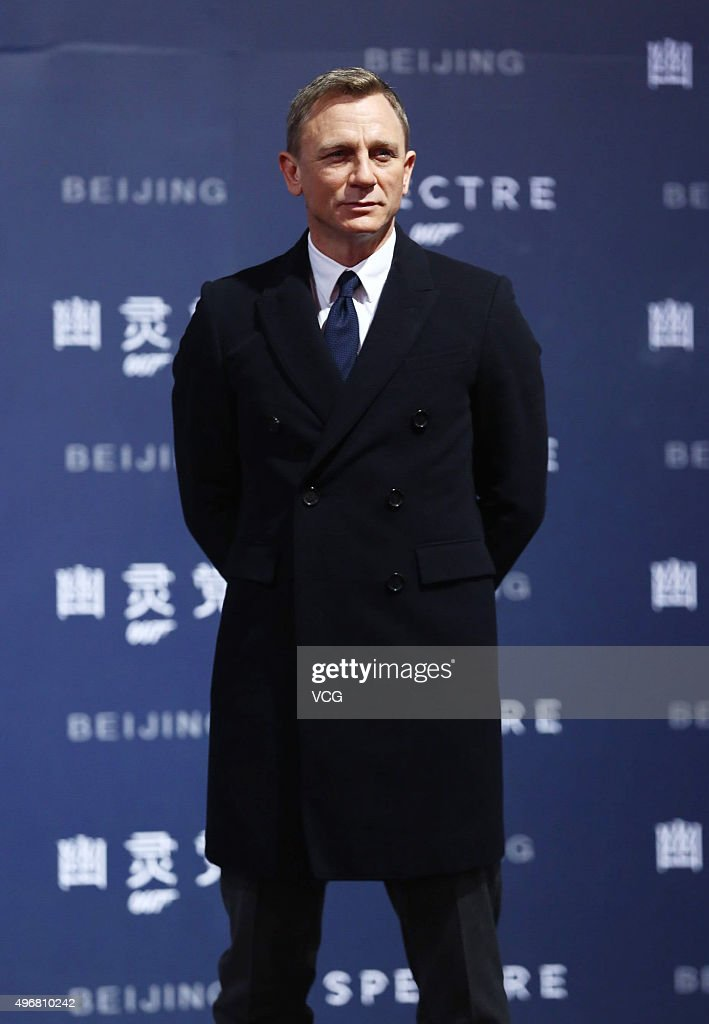 """Spectre"" Beijing Premiere : News Photo"