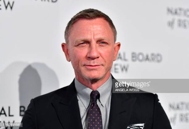 British actor Daniel Craig attends the 2020 National Board Of Review Gala on January 8, 2020 in New York City.