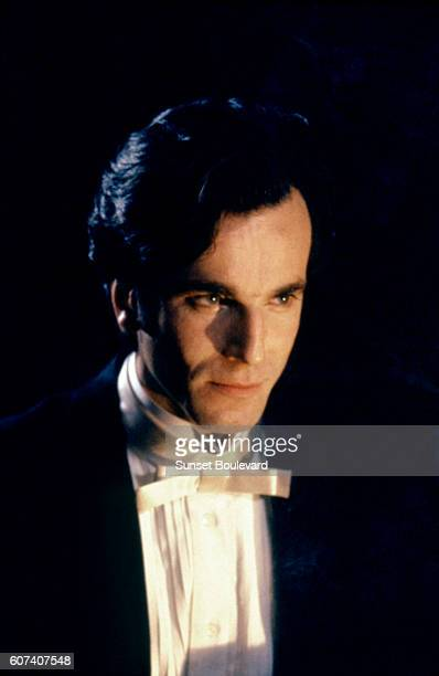 British actor Daniel DayLewis on the set of The Age of Innocence based on the novel by Edith Wharton and directed by Martin Scorsese