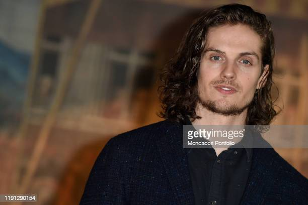 British actor Daniel Sharman during the photocall for presentation of the Rai I Medici series In the name of the family Rome November 29th 2019