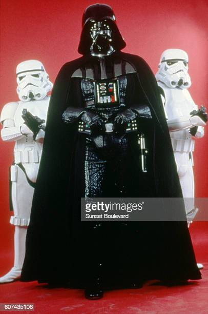 British actor David Prowse on the set of Star Wars Episode V The Empire Strikes Back directed by Irvin Kershner