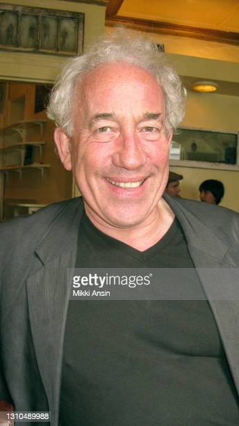 British actor, director, and author Simon Callow has a meal out in London on July 20, 2009.