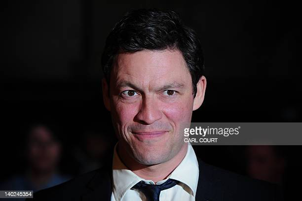 British actor Dominic West attends the UK premiere of John Carter in central London on March 1 2012 AFP PHOTO/CARL COURT