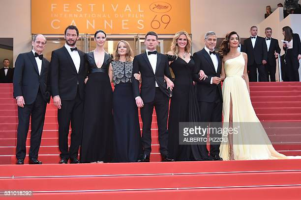 British actor Dominic West US director Jodie Foster Irish actress Caitriona Balfe British actor Jack O'Connell US actress Julia Roberts US actor...