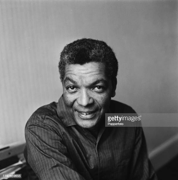 British actor Earl Cameron posed in June 1967