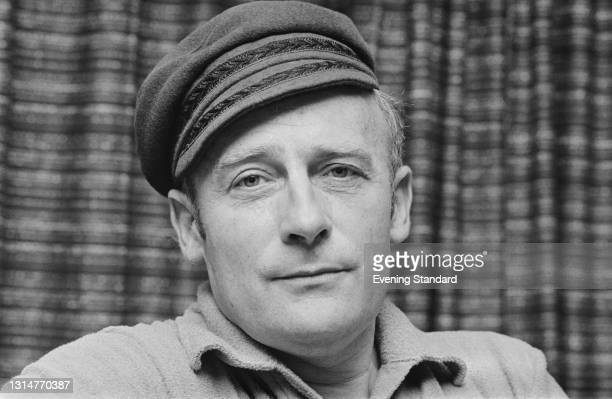 British actor Edward Woodward , who is starring in the stage play 'The Male of the Species', UK, 21st August 1974.