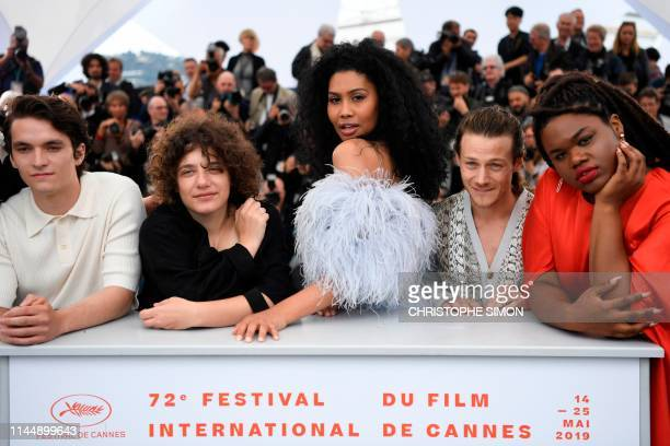 British actor Fionn Whitehead US film director Danielle Lessovitz US actor fashion model and transgender activist Leyna Bloom US actor McCaul...