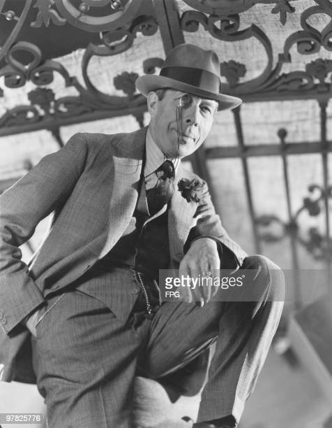 British actor George Arliss as he appears in the film 'The Working Man', 1933.