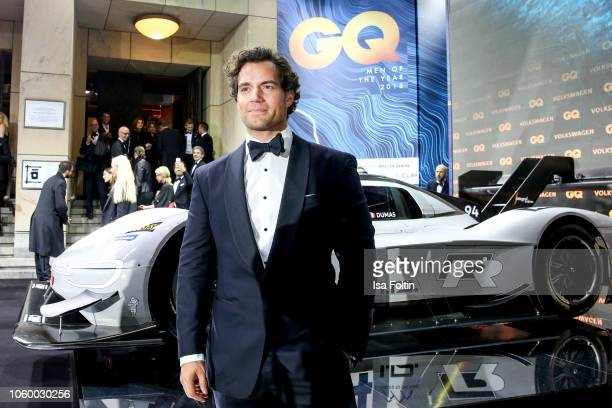 British actor Henry Cavill arrives for the 20th GQ Men of the Year Award at Komische Oper on November 8 2018 in Berlin Germany