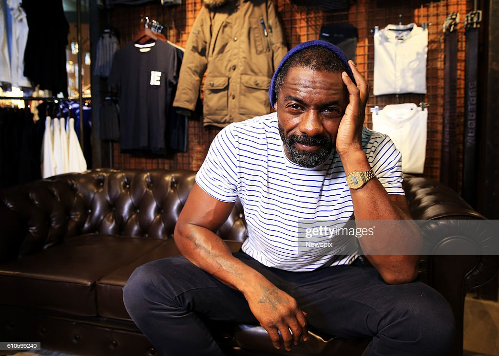 Idris Elba Launches 'Superdry' Clothing Line