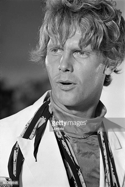 British actor James Fox photographed on the set of the film 'Duffy' in Spain on 3rd September 1967