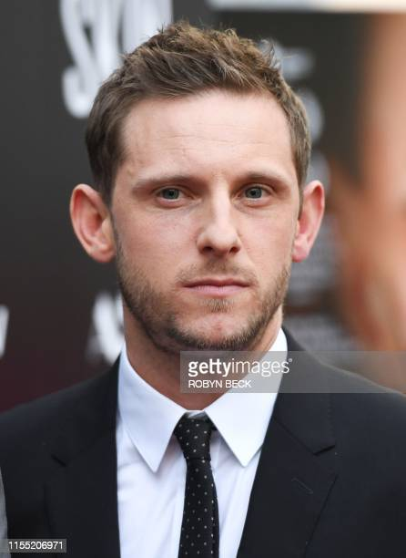 British actor Jamie Bell arrives for the special screening of Skin at the Arclight in Hollywood on July 11 2019