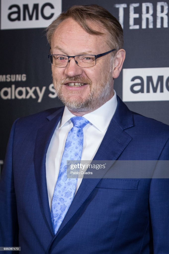 British actor Jared Harris attends 'The Terror' premiere at Philips Theater on March 20, 2018 in Madrid, Spain.