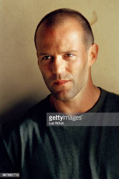 British actor Jason Statham on the set of the film The Transportor codirected by Louis Leterrier and Corey Yuen
