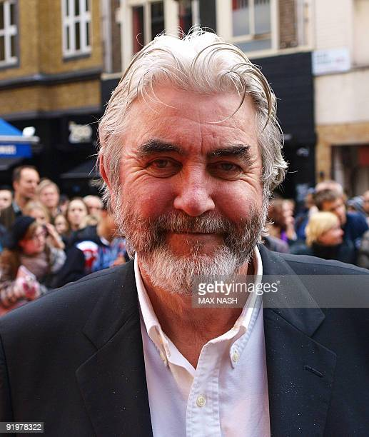 British actor John Alderton arrives to attend the UK premiere of the film From Time to Time by Julian Fellowes at the London Film Festival in...