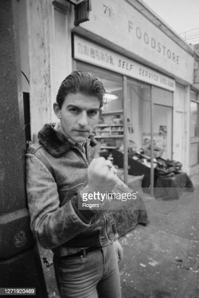 British actor John Altman who plays the character Nick Cotton in the new British soap opera 'Eastenders' UK 10th February 1985