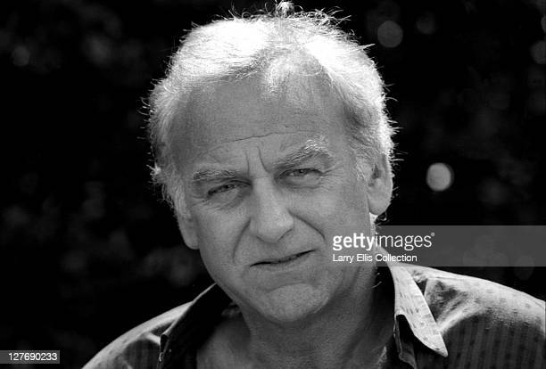 British actor John Thaw as the eponymous policeman in a publicity still for the television detective series 'Inspector Morse' circa 1987