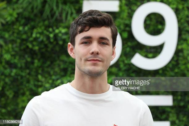 British actor Jonah Hauer King poses during a photocall for the TV show World on fire as part of the 59th MonteCarlo Television Festival on June 17...
