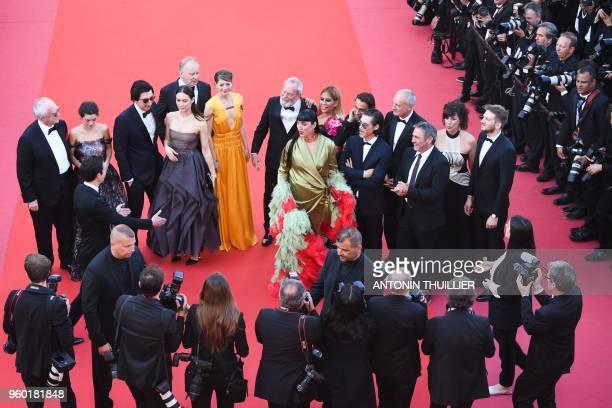 British actor Jonathan Pryce Portuguese actress Joana Ribeiro US actor Adam Driver FrenchUkrainian actress Olga Kurylenko Swedish actor Stellan...