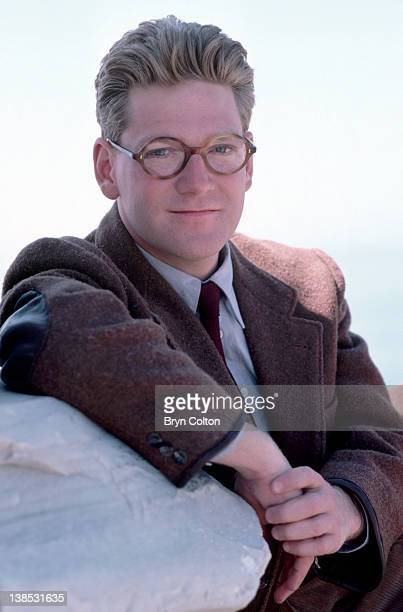 British actor Kenneth Branagh photographed on location as he films the new BBC drama series 'Fortunes of War in Athens Greece in April 1987