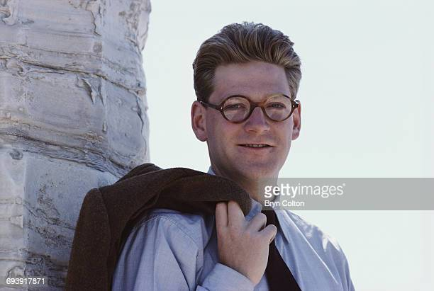 British actor Kenneth Branagh playing the role of Guy Pringle poses for a photograph during the filming of the new BBC drama series 'Fortunes of War'...