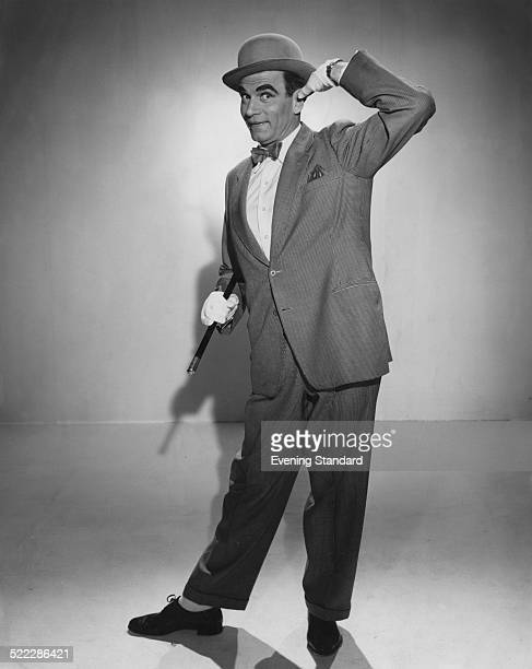British actor Laurence Olivier as music hall performer Archie Rice in 'The Entertainer' directed by Tony Richardson 1960 The film is based on the...