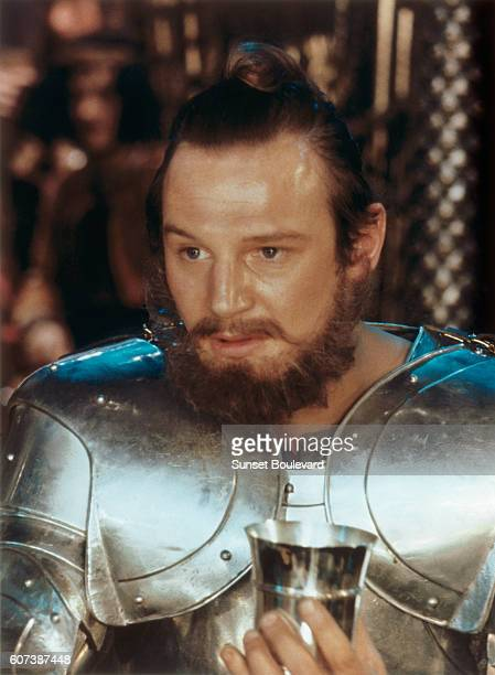 British actor Liam Neeson as Gawain in the 1981 film Excalibur directed by British director John Boorman