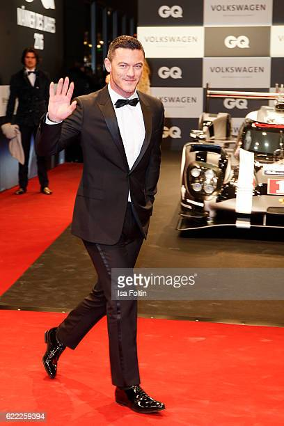 British actor Luke Evans attends the GQ Men of the year Award 2016 at Komische Oper on November 10 2016 in Berlin Germany