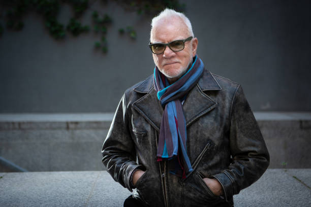 ESP: Malcolm McDowell Portrait Session In Madrid