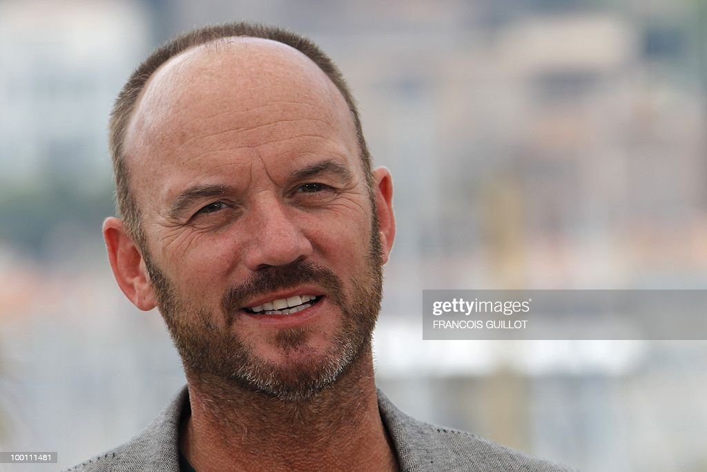 British actor Mark Womack poses during the photocall 'Route Irish' presented in competition at the 63rd Cannes Film Festival on May 21, 2010 in Cannes.