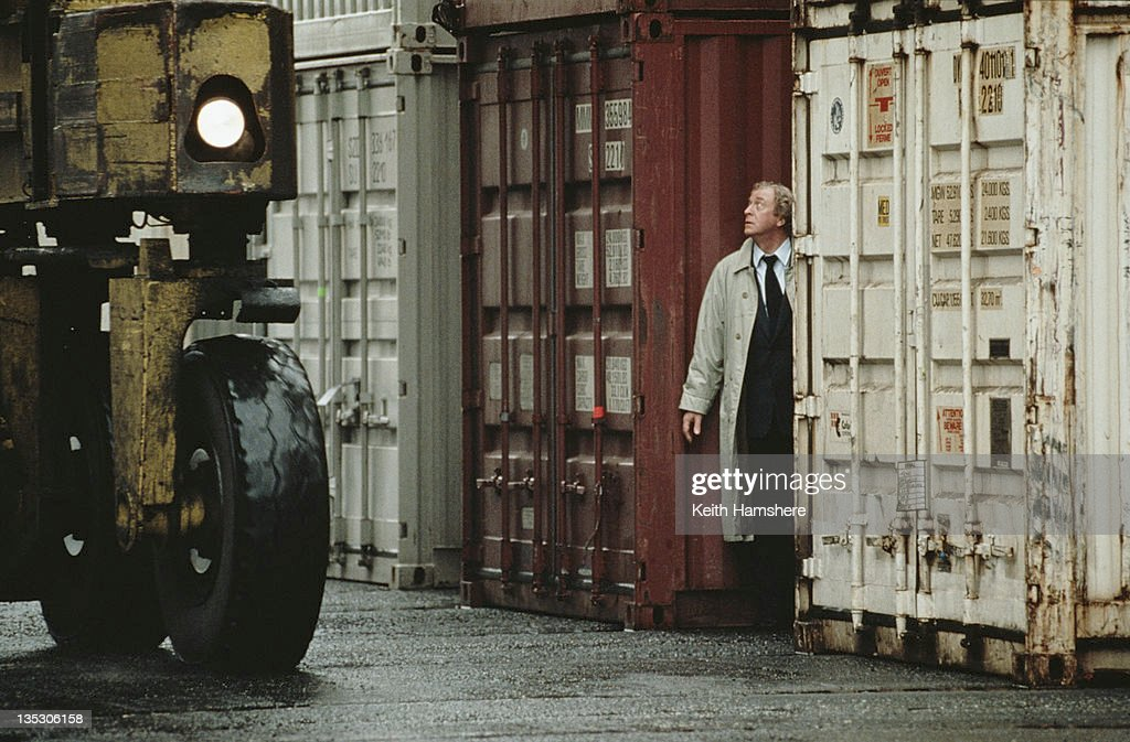 British actor Michael Caine as former secret agent Harry Anders in the film 'Blue Ice', 1992.