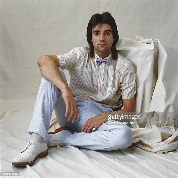 British actor Michael Praed who is starring in 'The Pirates of Penzance' at the Theatre Royal in London July 1982