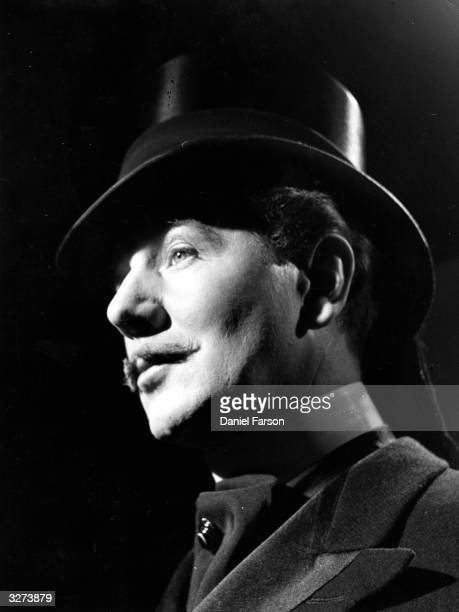 British actor Michael Redgrave in a scene from the film 'The Importance Of Being Earnest' adapted from Oscar Wilde's play The film was directed by...