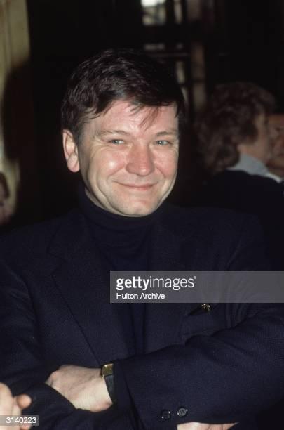 British actor Michael Williams the husband of Dame Judi Dench at the Theatre Royal Drury Lane London