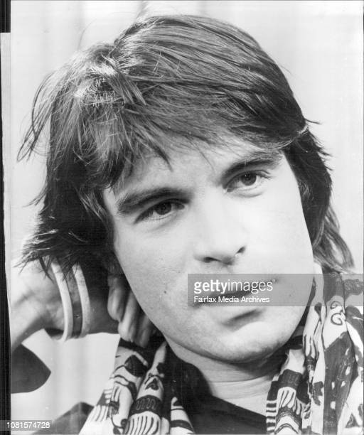British actor Oliver Tobias arrival in Sydney for the Launching of TV series Luke's Kingdom in which he story March 31 1976