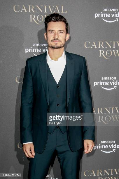 British actor Orlando Bloom attends the Carnival Row Special Screening at Astor Film Lounge on August 26 2019 in Berlin Germany
