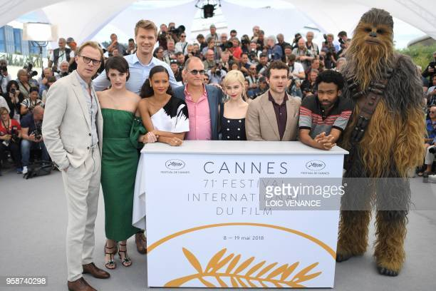 TOPSHOT British actor Paul Bettany British actress Phoebe WallerBridge Finnish actor Joonas Suotamo British actress Thandie Newton US actor Woody...
