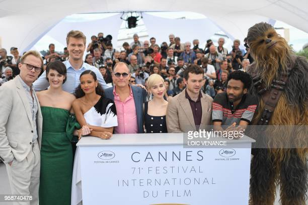 British actor Paul Bettany British actress Phoebe WallerBridge Finnish actor Joonas Suotamo British actress Thandie Newton US actor Woody Harrelson...